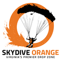 Skydive Orange Logo